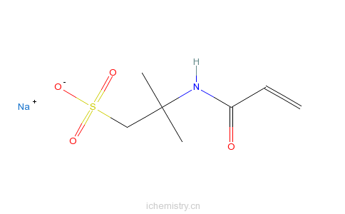 CAS:5165-97-9_2-甲基-2-[(1-氧代-2-丙烯基)氨基]-1-丙磺酸钠盐的分子结构