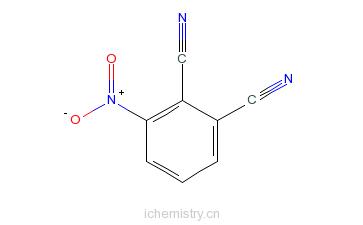 CAS:51762-67-5_3-硝基邻苯二甲腈的分子结构
