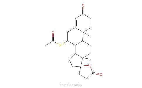 CAS:52-01-7_螺内酯的分子结构