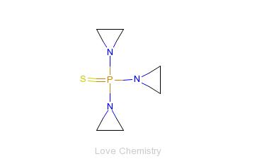 CAS:52-24-4_三亚乙基硫代磷酰胺的分子结构
