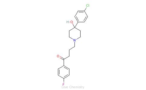 CAS:52-86-8_氟哌啶醇的分子结构