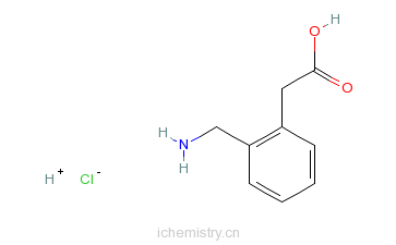 CAS:52067-92-2_邻氨甲基苯乙酸盐酸盐的分子结构