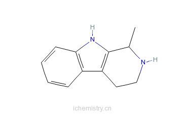 CAS:525-40-6_DL-胡秃子碱的分子结构