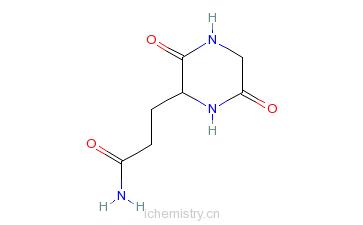 CAS:52662-00-7_环(Gly-Gln)的分子结构