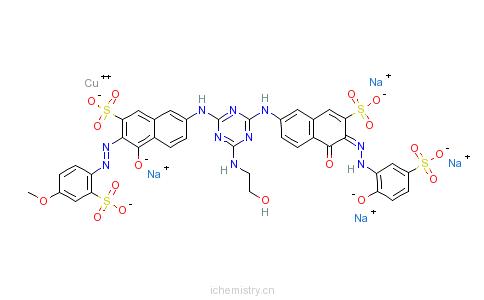 CAS:52953-36-3_C.I.直接红243的分子结构