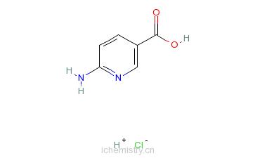 CAS:5336-87-8_6-氨基烟酸盐酸盐的分子结构