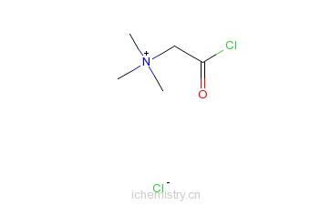 CAS:53684-57-4_氯化甜菜碱酰氯的分子结构