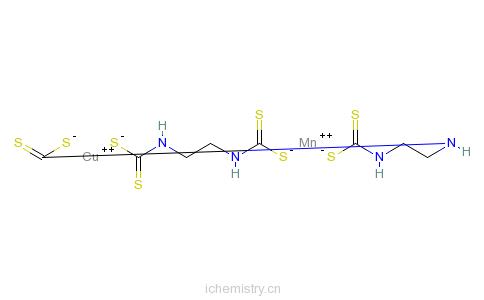 CAS:53988-93-5_代森锰铜的分子结构