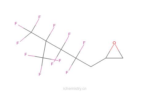 CAS:54009-81-3_3-(全氟-3-甲基)-1,2-丙烯氧化物的分子结构