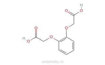 CAS:5411-14-3_1,2-亚苯基二氧二乙酸的分子结构