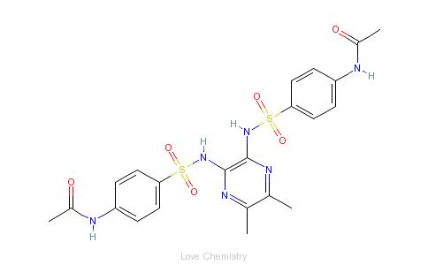 CAS:5414-56-2的分子结构
