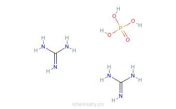 CAS:5423-23-4_磷酸胍的分子结构