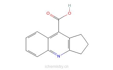CAS:5447-47-2_2,3-二氢-1H-环戊并[B]喹啉-9-羧酸的分子结构
