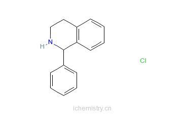 CAS:5464-92-6_1-苯基-1,2,3,4-四氢异喹啉的分子结构