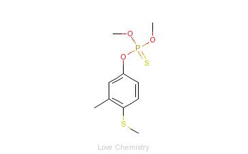 CAS:55-38-9_倍硫磷的分子结构