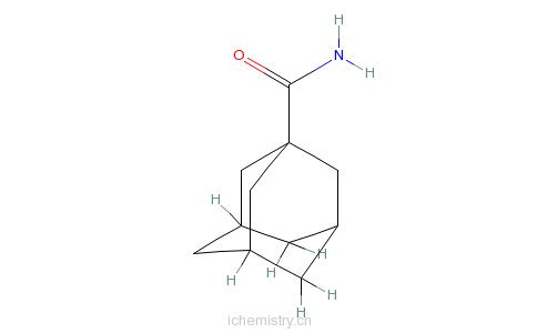 CAS:5511-18-2_1-金刚烷甲酰胺的分子结构