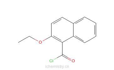 CAS:55150-29-3_2-乙氧基-1-萘甲酰氯的分子结构