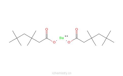 CAS:55172-98-0_新癸酸钡的分子结构