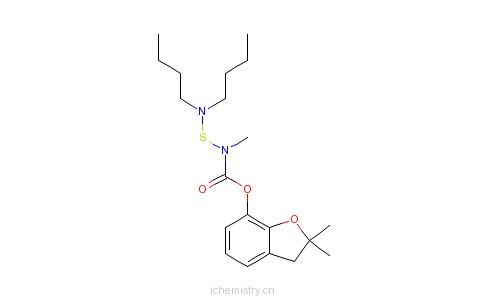 CAS:55285-14-8_丁硫克百威的分子结构