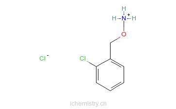 CAS:5555-48-6_邻氯苄氧胺盐酸盐的分子结构