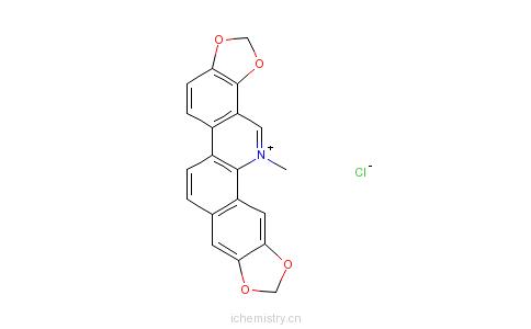 CAS:5578-73-4_血根碱的分子结构