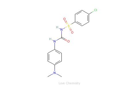 CAS:5581-42-0_格列帕脲的分子结构