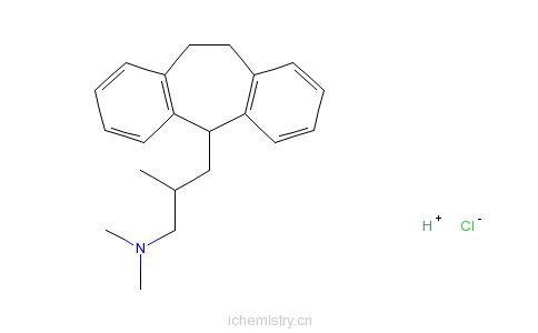 CAS:5585-73-9_盐酸布替林的分子结构