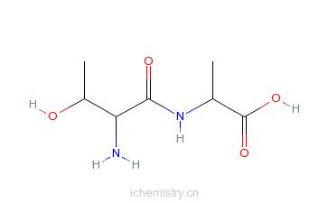 CAS:56217-50-6_H-THR-ALA-OH的分子结构