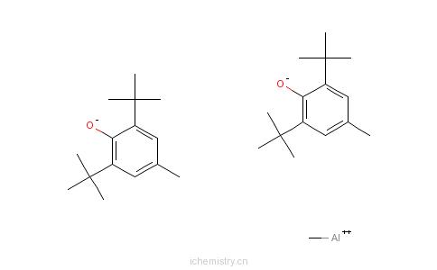 CAS:56252-55-2_甲铝双(2,6-二叔丁基-4-苯甲醚)的分子结构