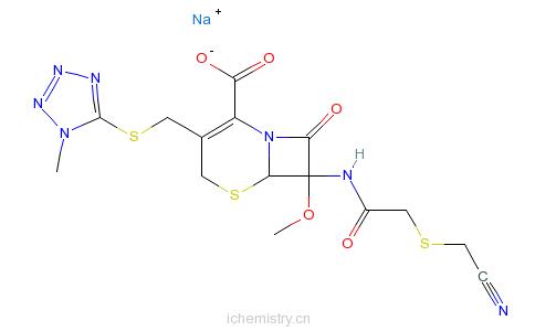 CAS:56796-39-5_头孢美唑钠的分子结构