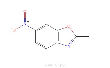 CAS:5683-43-2_2-甲基-6-硝基苯并恶唑的分子结构