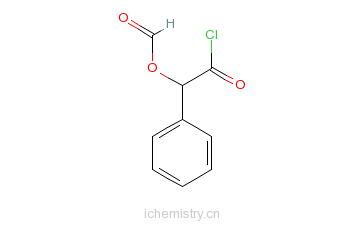 CAS:57079-45-5_α-甲酰氧基苯乙酰氯的分子结构