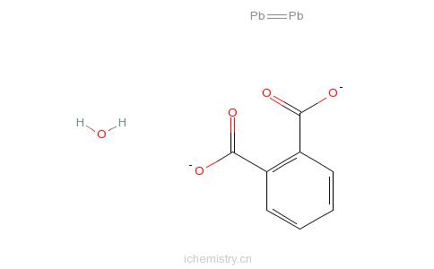 CAS:57142-78-6_二盐基邻苯二甲酸铅的分子结构