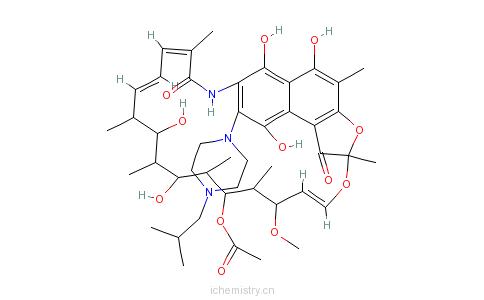 CAS:57184-22-2_利福定的分子结构