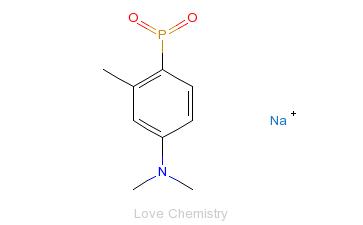 CAS:575-75-7_托定磷钠的分子结构