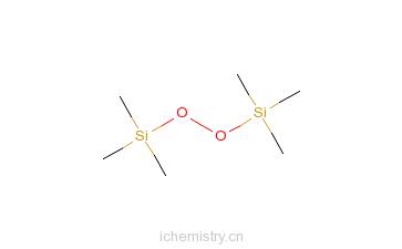 CAS:5796-98-5_双三甲基硅基过氧化物的分子结构