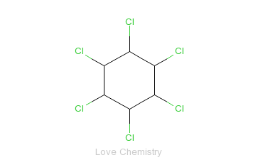 CAS:58-89-9_林丹的分子结构