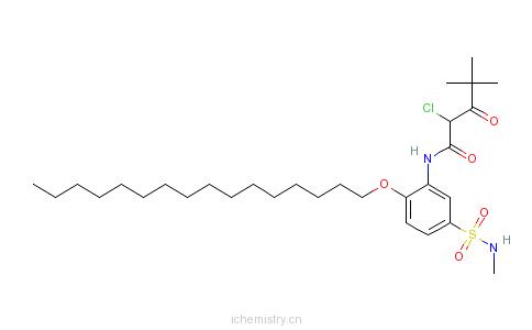 CAS:58202-07-6的分子结构