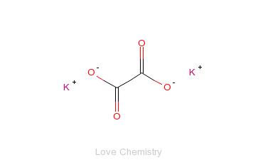 CAS:583-52-8_草酸二钾的分子结构
