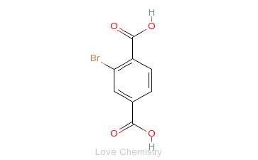 CAS:586-35-6_2-溴四苯醌的分子结构