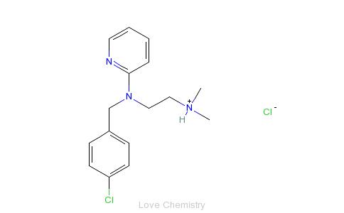 CAS:59-32-5_氯吡拉敏的分子结构