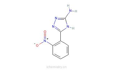CAS:59301-22-3_5-(2-硝基苯基)-4H-1,2,4-三唑-3-胺的分子结构