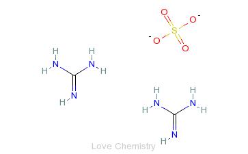 CAS:594-14-9_硫酸胍的分子结构