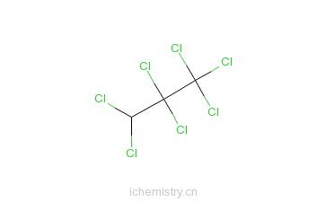 CAS:594-89-8_七氯丙烷的分子结构