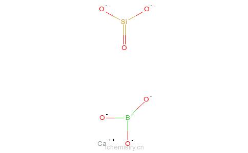 CAS:59794-15-9_硼硅酸钙的分子结构