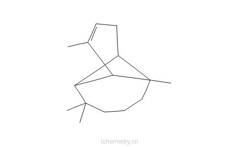 CAS:5989-08-2_(+)-α-长叶蒎烯的分子结构