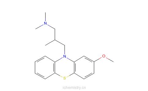 CAS:60-99-1的分子结构
