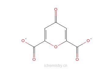 CAS:6003-94-7_白屈菜酸单水合物的分子结构