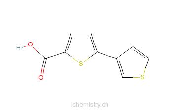 CAS:60141-31-3_5-(3-噻吩基)噻吩-2-羧酸的分子结构