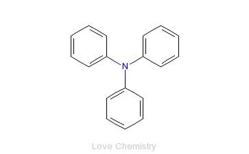 CAS:603-34-9_三苯胺的分子结构